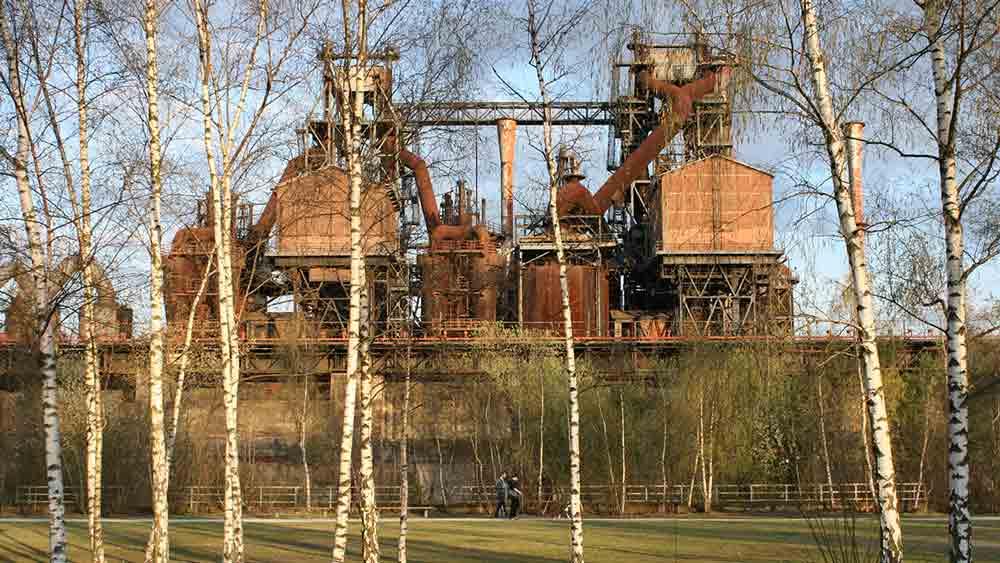 Old industrial factory in Dortmund