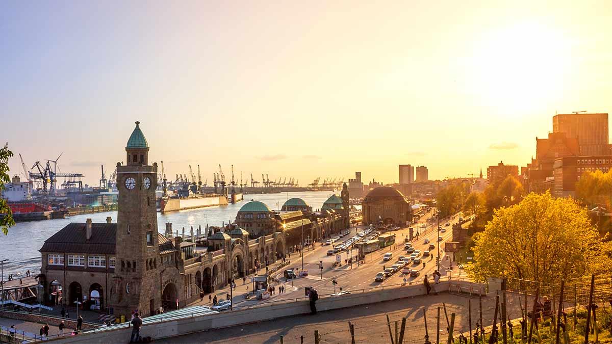 St Pauli in Hamburg, Germany