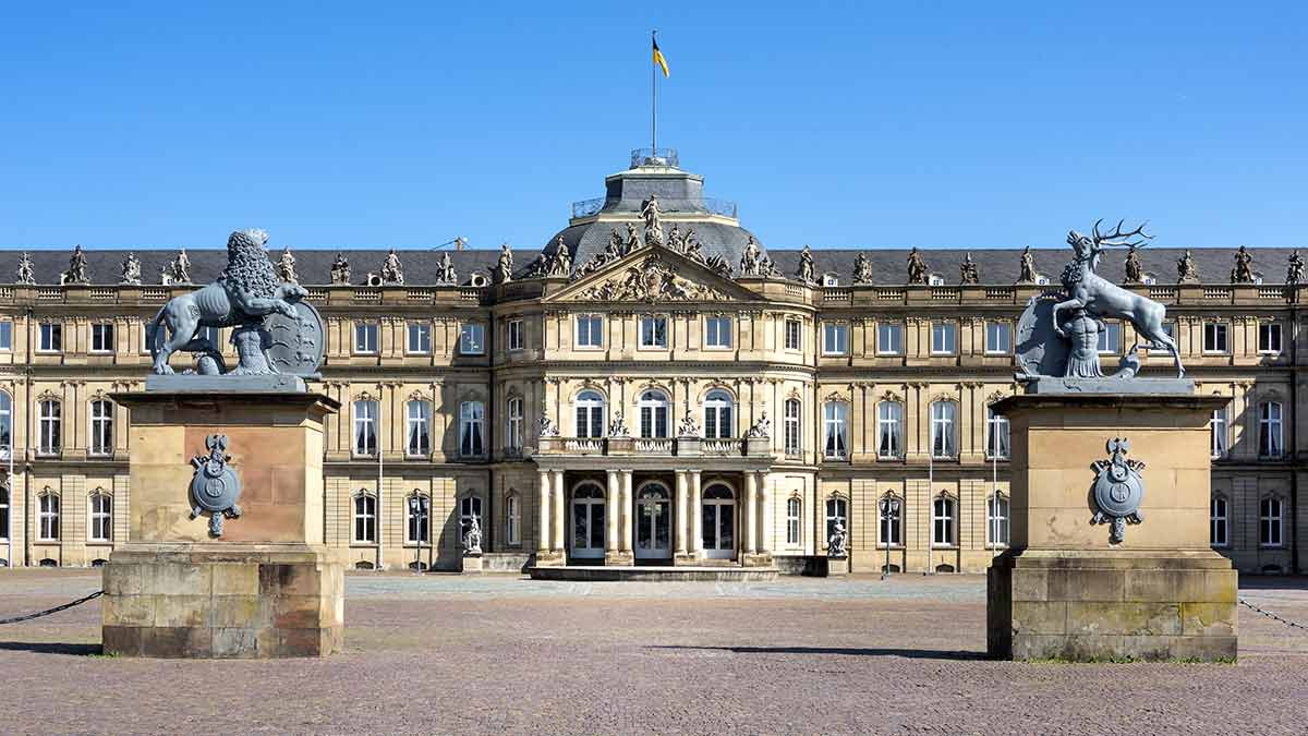 Castle Square in Stuttgart