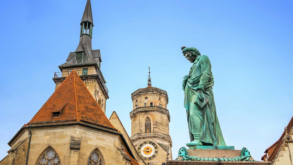 Statue in Stuttgart