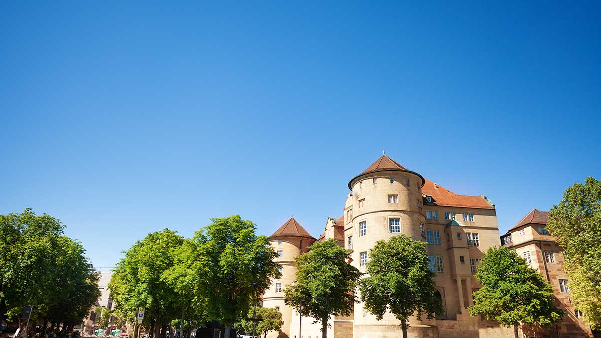 Old Castle in Stuttgart