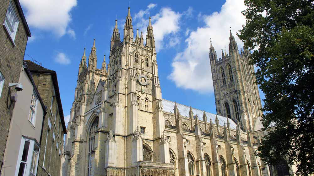 Attractions in Kent - Canterbury Cathedral