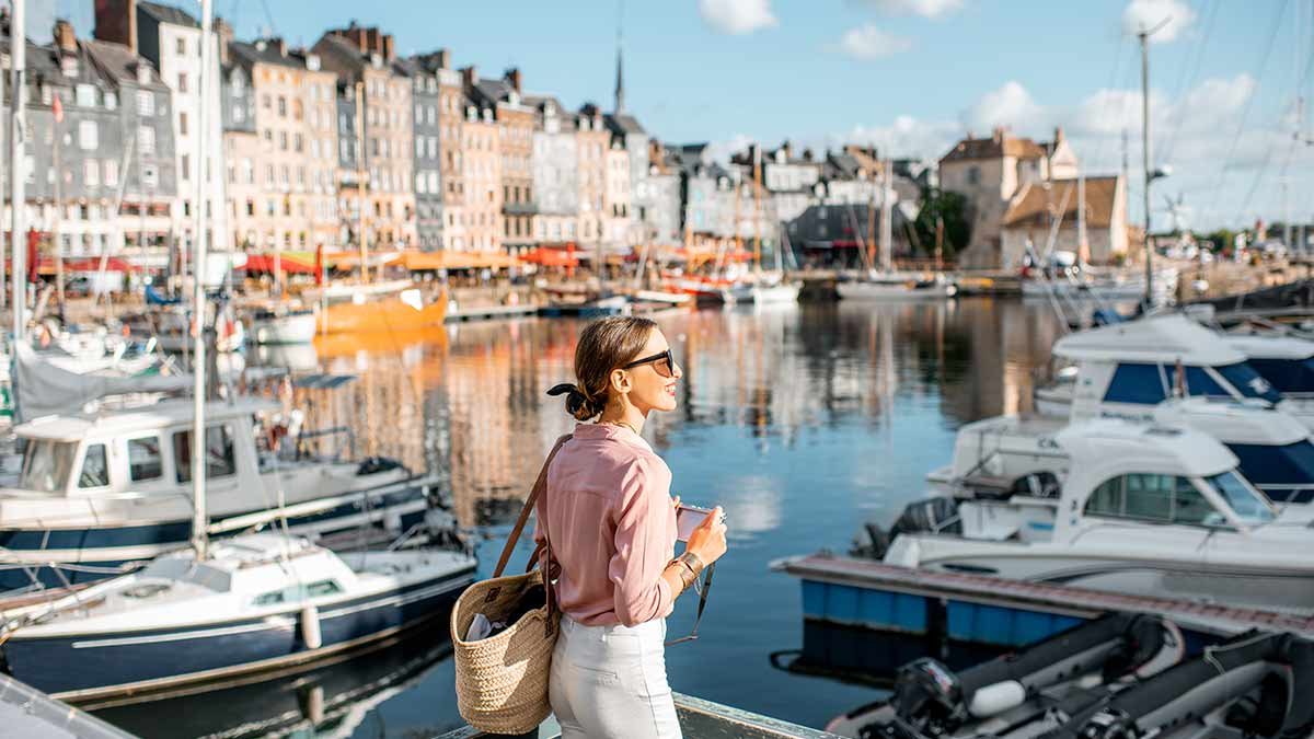 Attractions in France - Honfleur