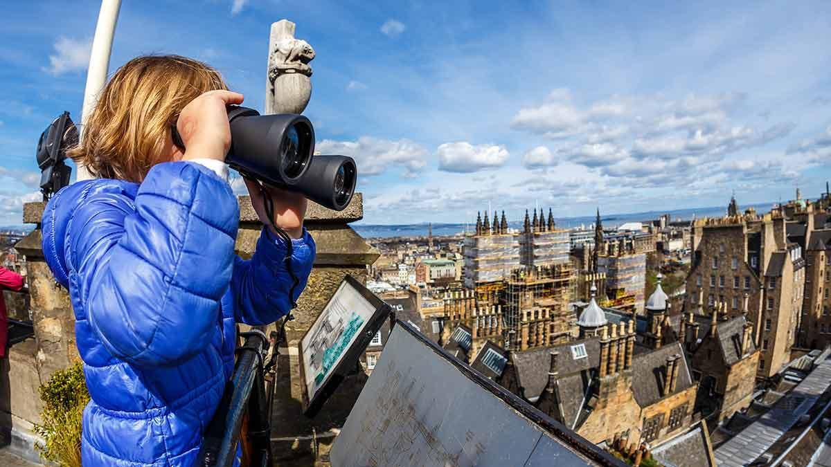 Attractions in Scotland - Edinburgh Royal Mile