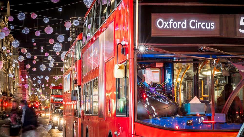 Shopping à London à Noël