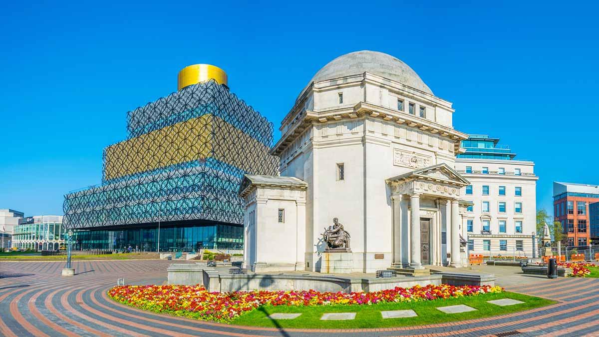 Library in Birmingham