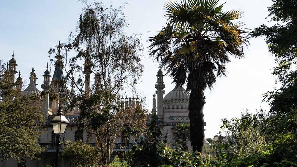 Royal Pavillion Gardens in Brighton