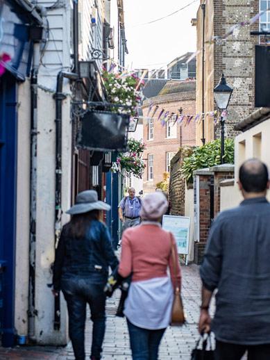 Les ruelles de Brighton