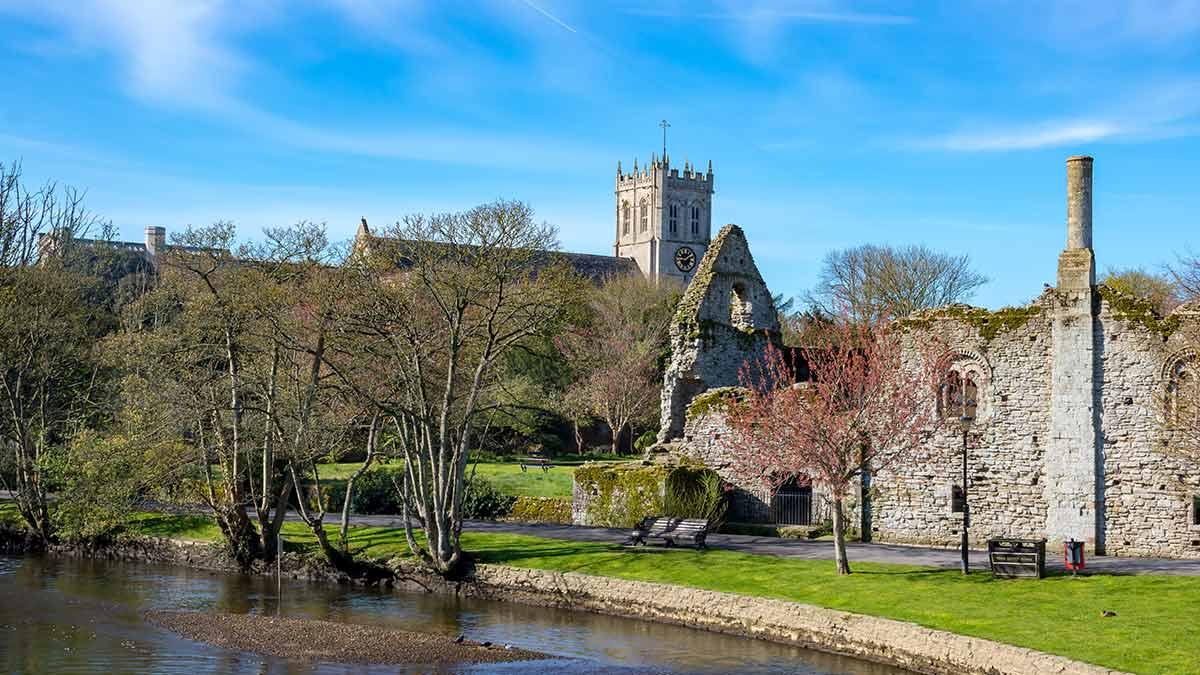 Christchurch dans le Dorset