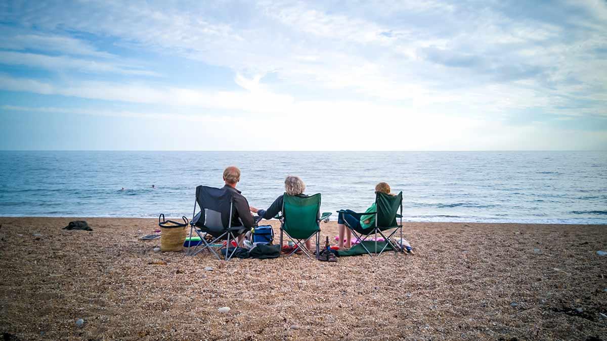 Hive Beach in Dorset