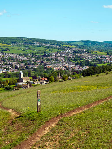 Cotswold Way in Gloucestershire