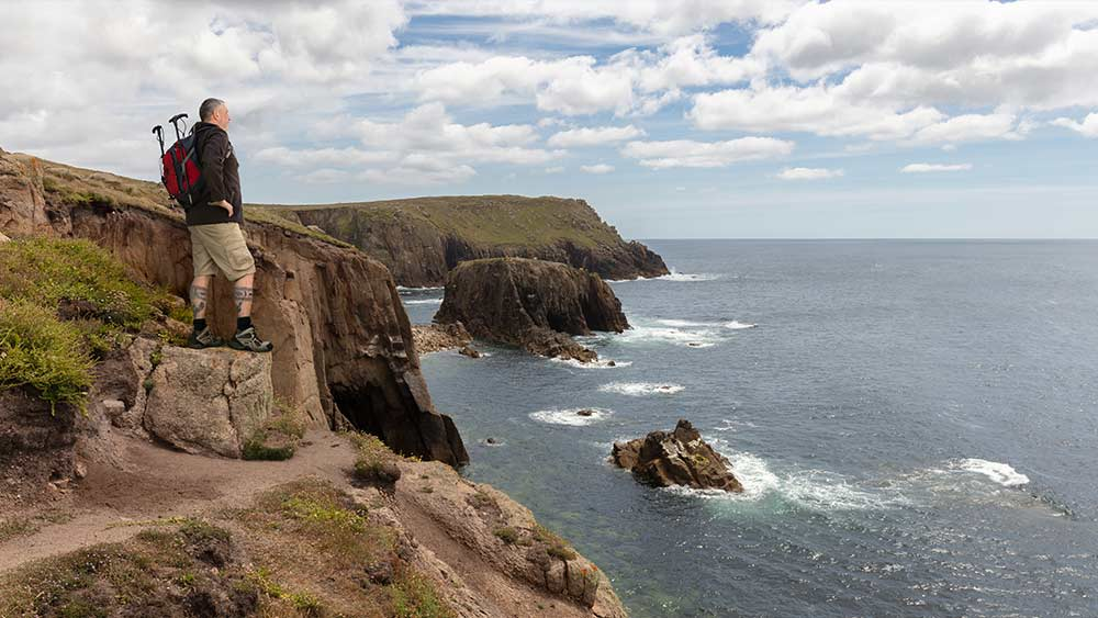South West Coast Path ideal for walkers
