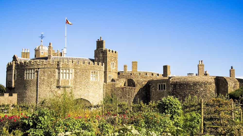 Walmer Castle in Kent