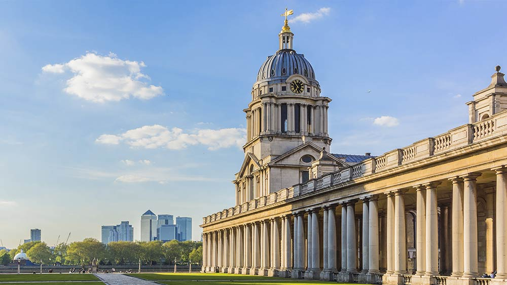 Old Royal Naval College in Greenwich