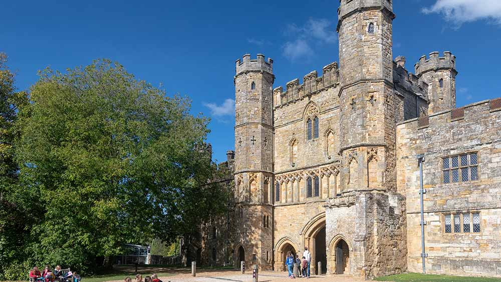 Battle abbey in South of England