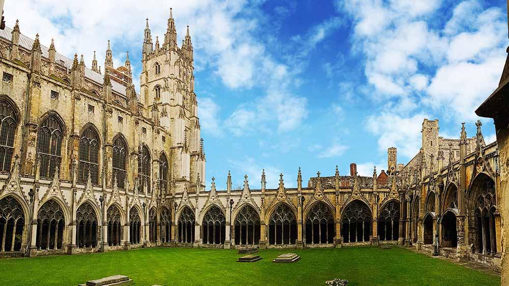 Cathédrale de Canterbury dans le Kent