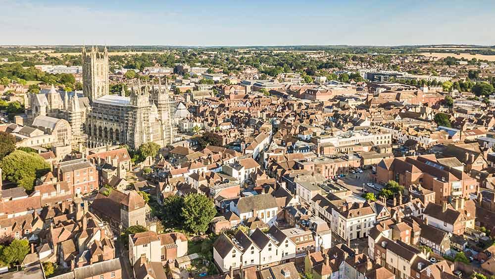 Canterbury dans le Kent