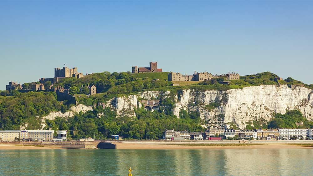 Het Dover-kasteel in Kent