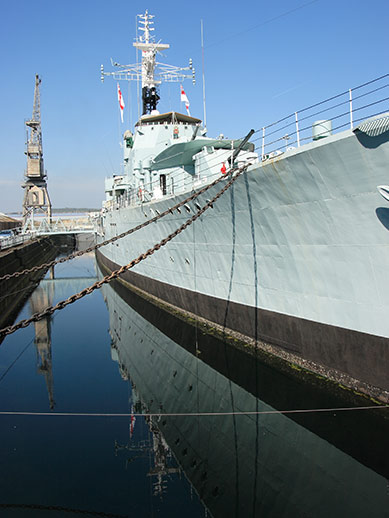 Historic Dockyard in Chatham
