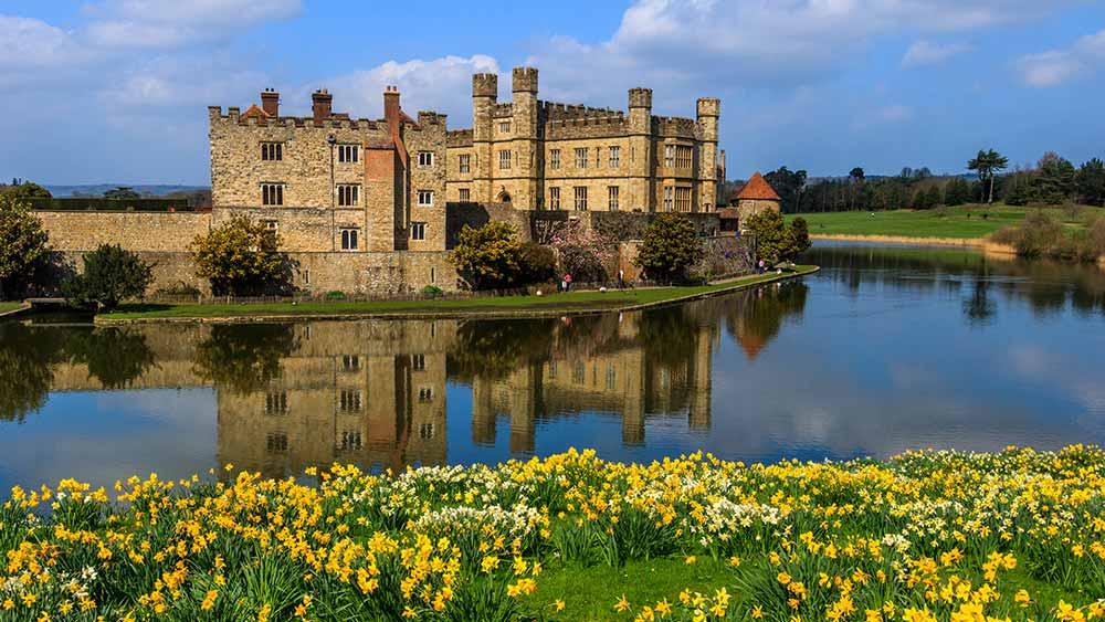 Château de Leeds près de Maidstone