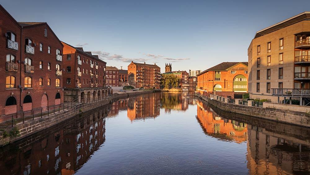 Grachten in Leeds