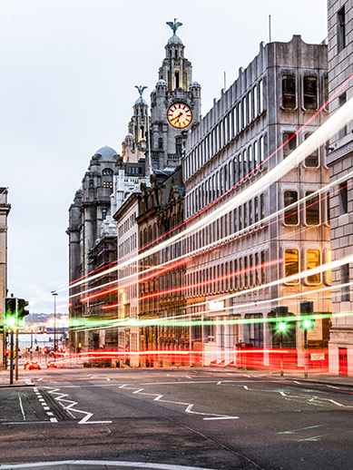 Royal Liver Bird Building in Liverpool