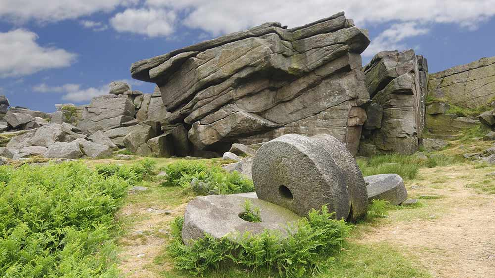 Stanage Edge in Peak District National Park