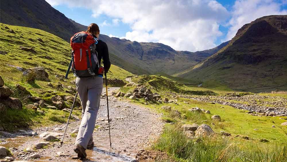 Walking in the Peak District