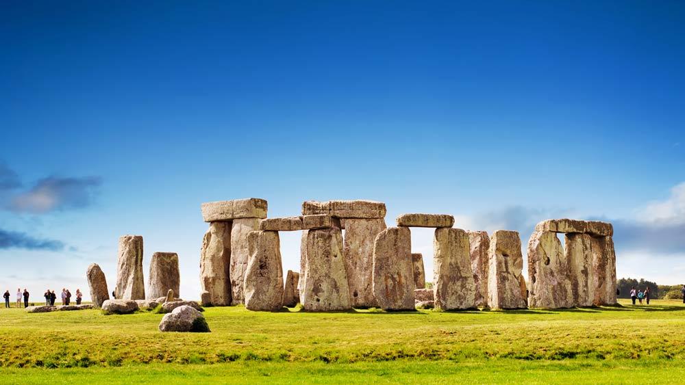 Stonehenge in Wiltshire England