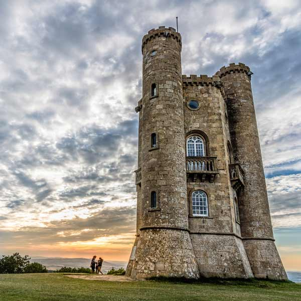 Broadway Tower in Cotswolds England