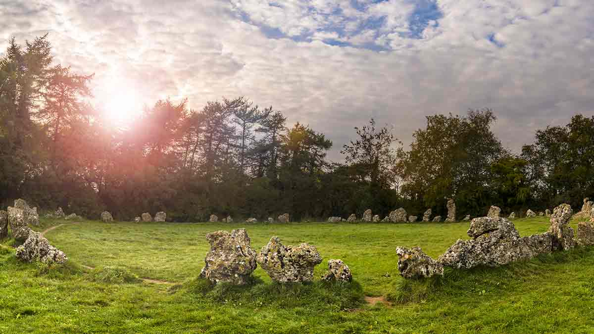 Neolithic Stones in Oxfordshire England