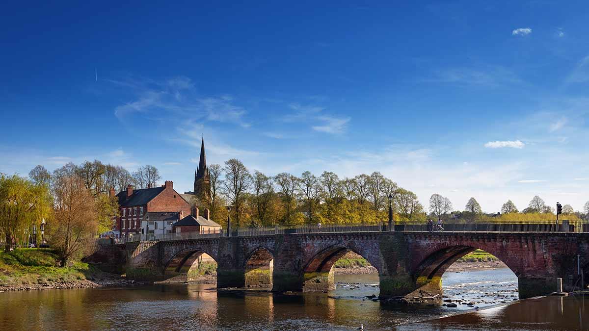 Chester en Angleterre