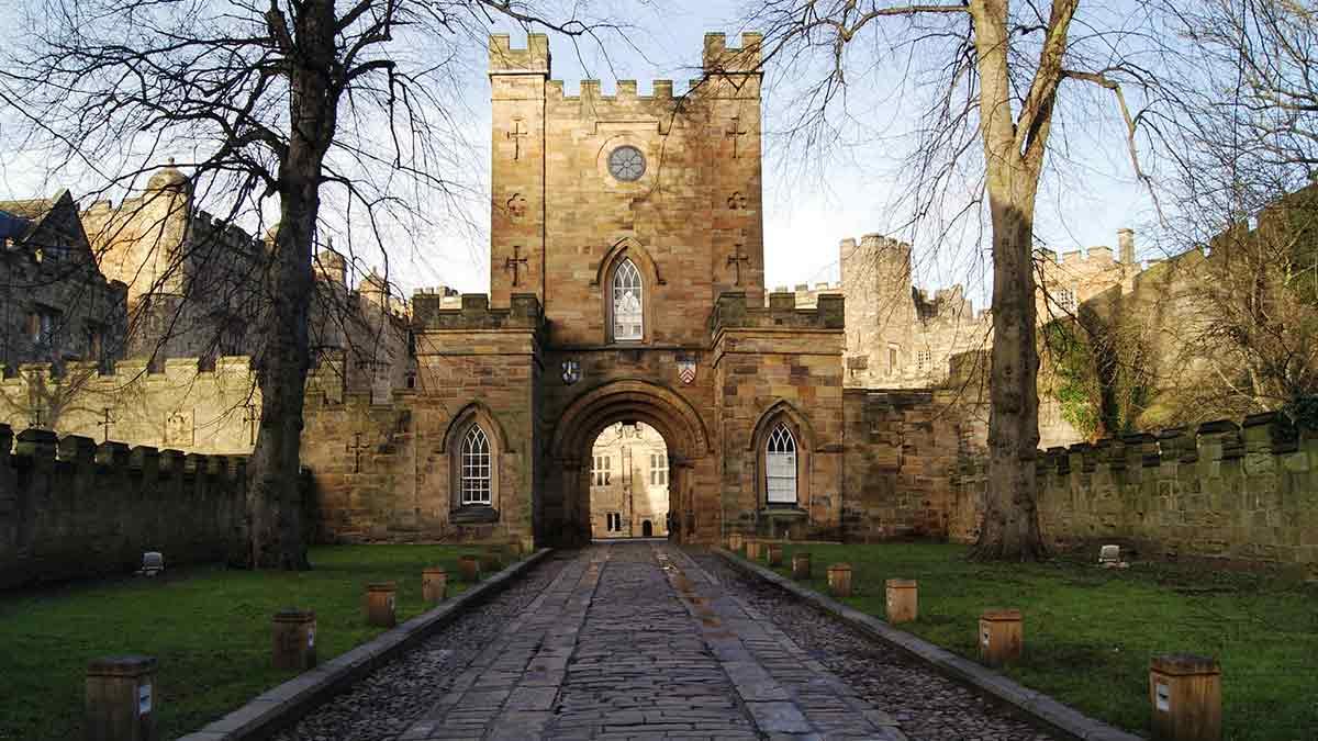 Durham-kasteel in Engeland