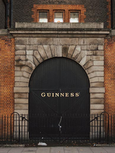 Guiness Brewery Storehouse in Dublin