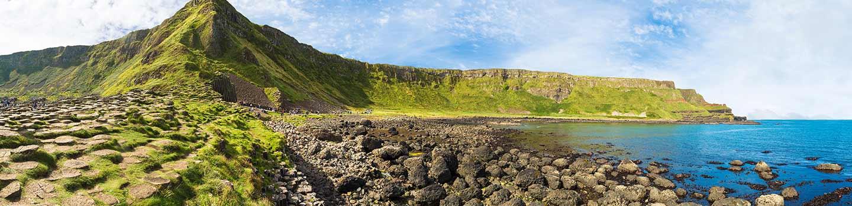 Chaussée des géants en Irlande du Nord