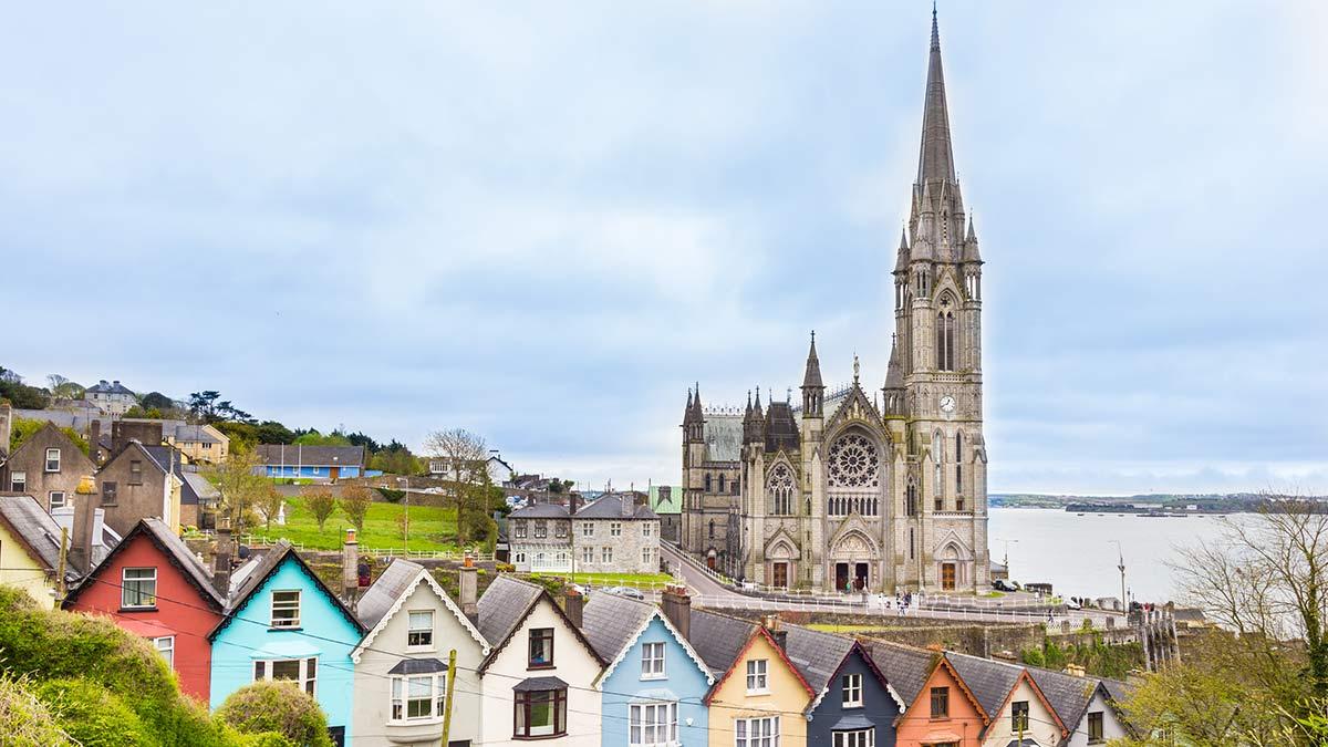 Cobh in Ierland