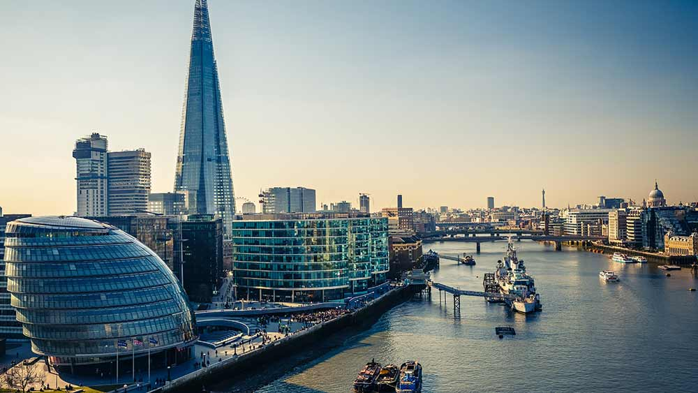 Londen in Engeland