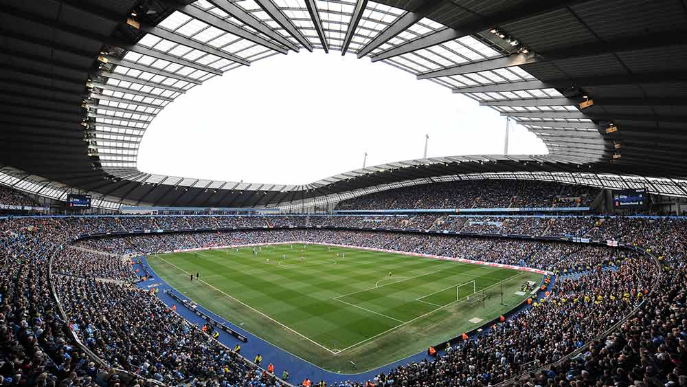 Manchester City Football Club in England