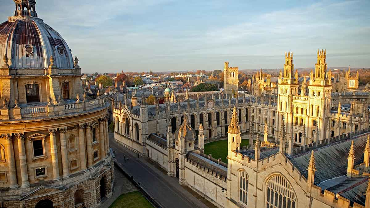 All Souls College à Oxford, Angleterre
