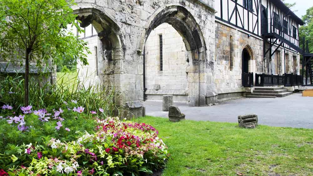 Museum Gardens w York, Yorkshire, Anglia