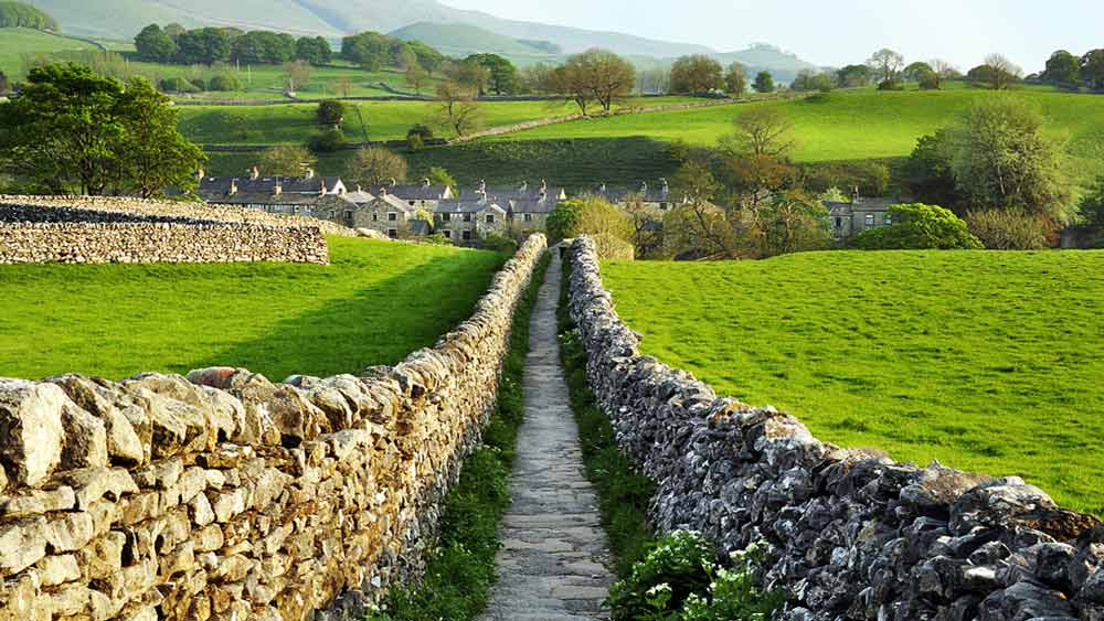 Yorkshire Dales in England