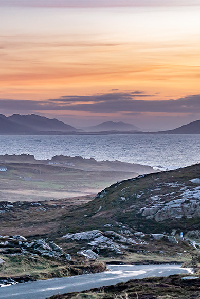 Malin head in County Donegal
