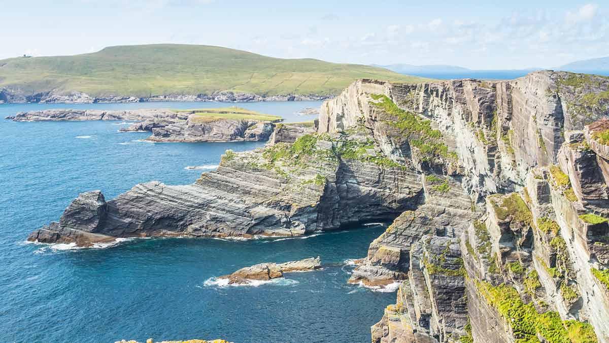 Kerry Cliffs in graafschap Kerry