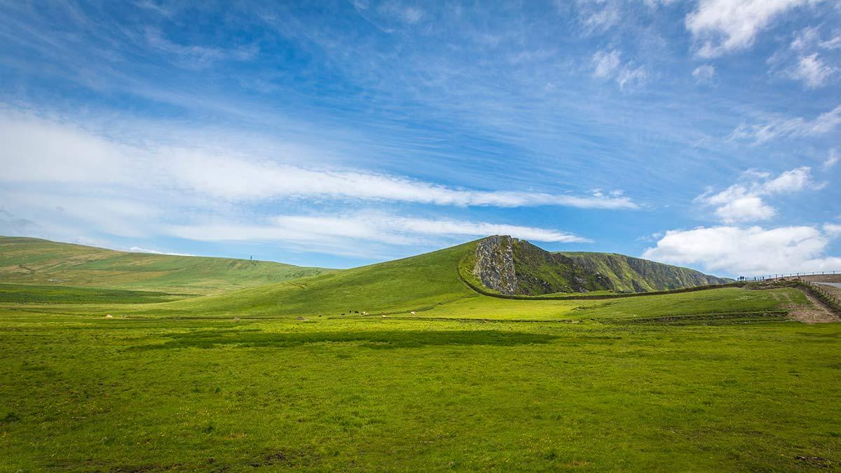 Kerry Cliffs in Ireland