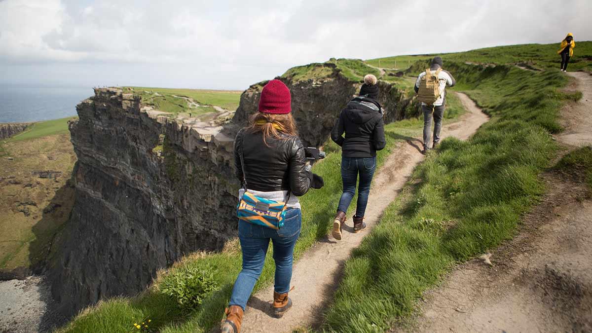 Kliffen van Moher in het graafschap Limerick