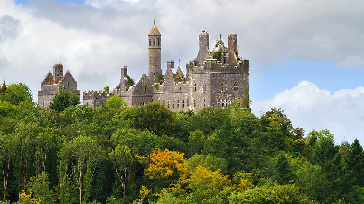 Dromore Castle in County Limerick