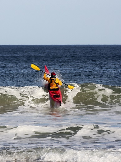 Sea kayaking in Tralee, Ireland