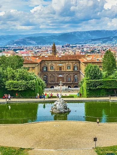 Pitti Palace and Boboli Gardens, Florence