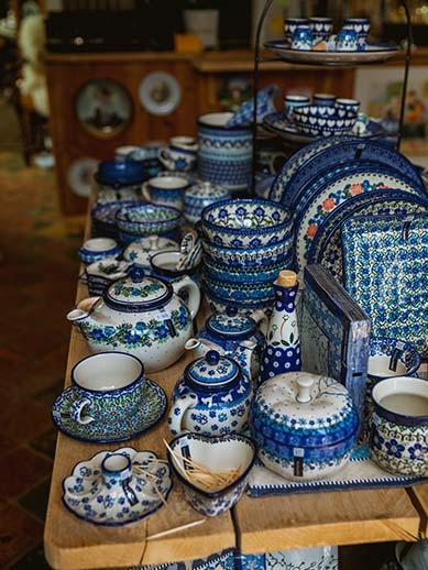 Famous Blue Delft Pottery
