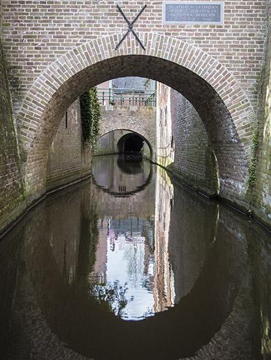Binnendieze Den Bosch in Netherlands